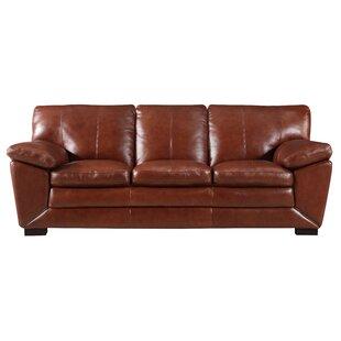 Arsneault Leather Sofa