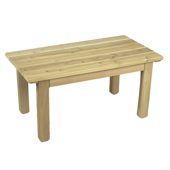 Rustic Cedar English Cedar Coffee Table U0026 Reviews | Wayfair