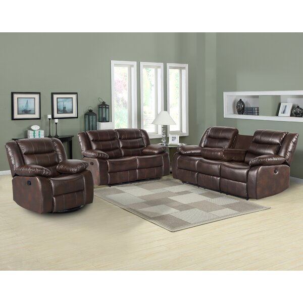 Howard Beach 3 Piece Living Room Set By Red Barrel Studio