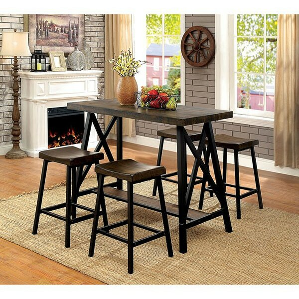 Caoimhe 5 Piece Pub Table Set by 17 Stories