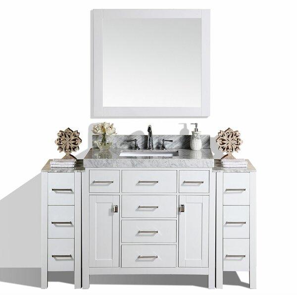 Laub 65 Single Bathroom Vanity Set with Mirror by House of Hampton