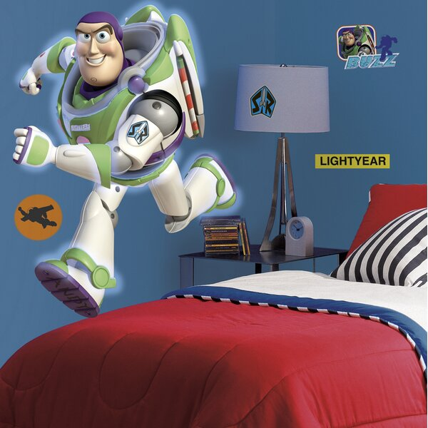 Toy Story Buzz Giant Wall Decal by Room Mates