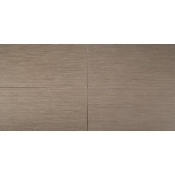 Focus Olive 12 x 24 Porcelain Wood Look/Field Tile in Gray by MSI