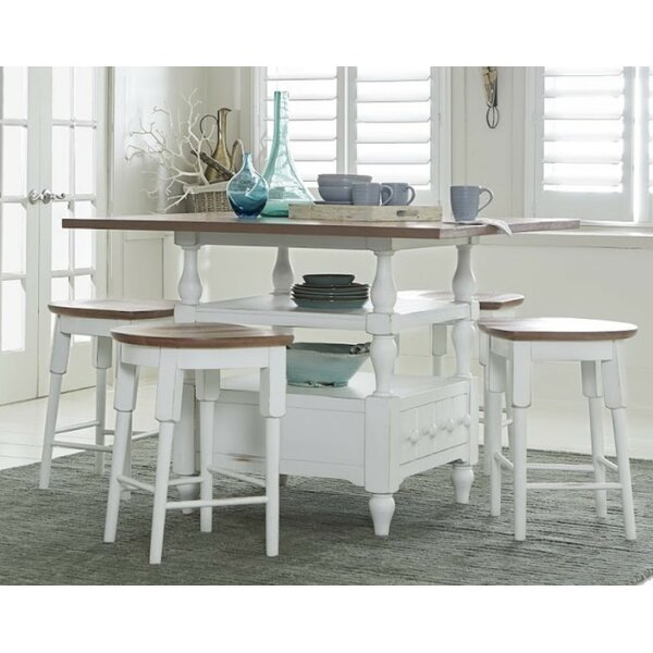 Pineville 5 Piece Dining Set by Rosecliff Heights Rosecliff Heights