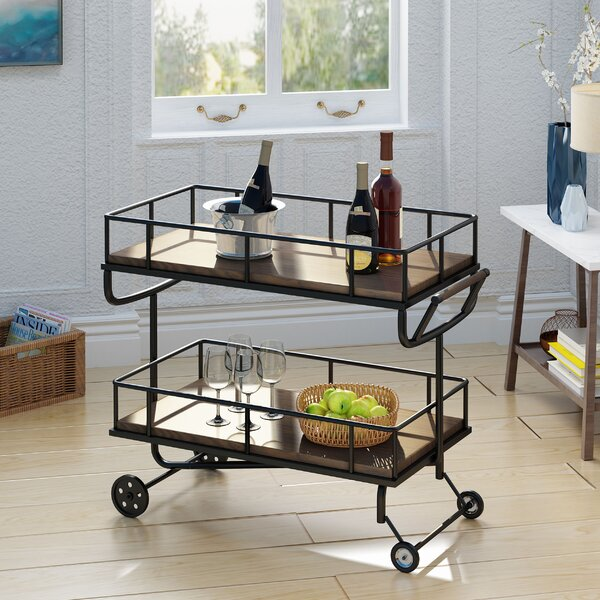 Dierdre Bar Cart by Williston Forge