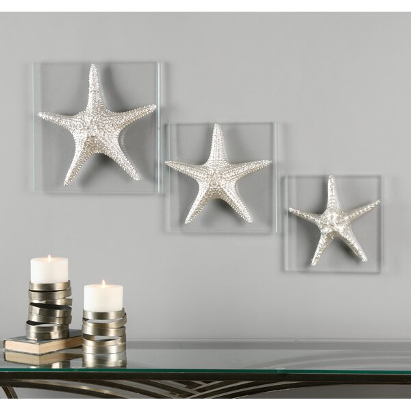 Tolliver 3 Piece Metal Wall Decor Set by Rosecliff Heights