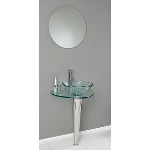 Best Choices Vetro Glass Specialty Vessel Bathroom Sink By Fresca