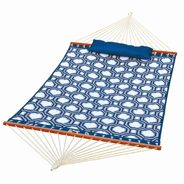 Mckenzi Quilted Double Tree Hammock by Highland Dunes Highland Dunes