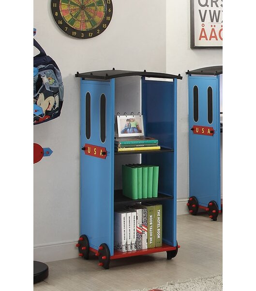 Nala Train Standard Bookcase by Zoomie Kids
