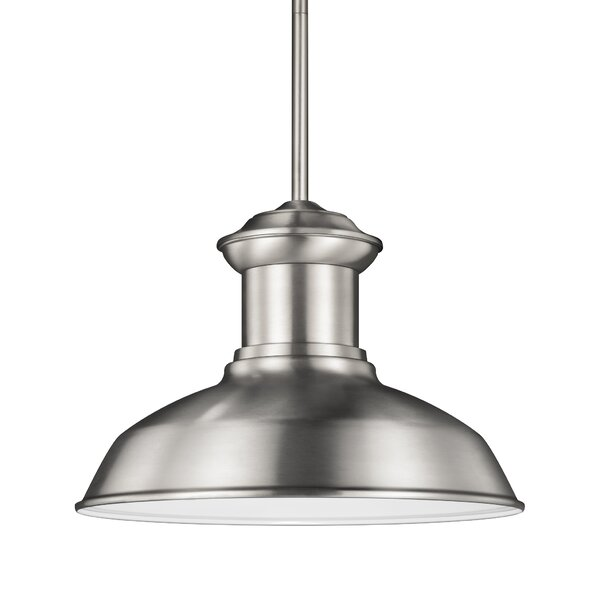 Vallie 1-Light Outdoor Pendant by Laurel Foundry Modern Farmhouse