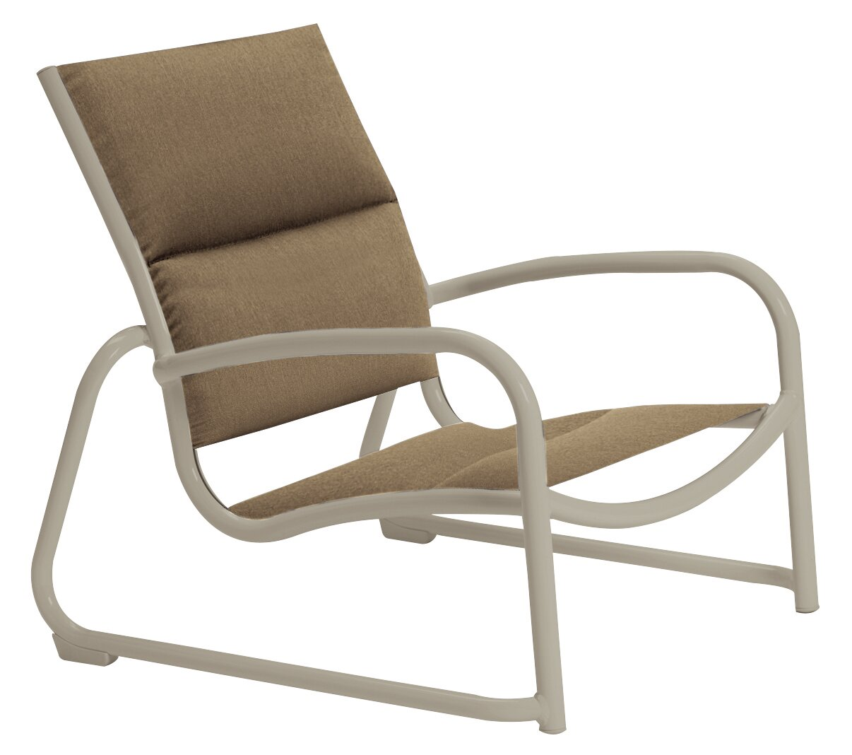 - Tropitone Millennia Padded Sling Patio Chair Wayfair