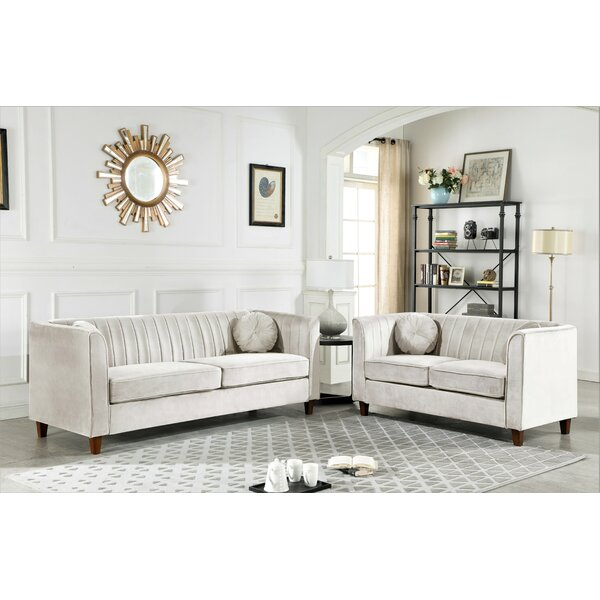 Berkeley 2 Piece Living Room Set by House of Hampton House of Hampton