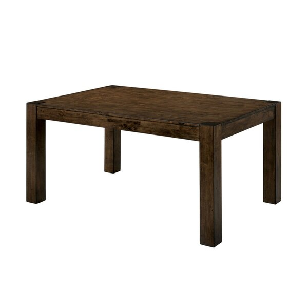 Staveley Transitional Solid Wood Dining Table by Gracie Oaks Gracie Oaks