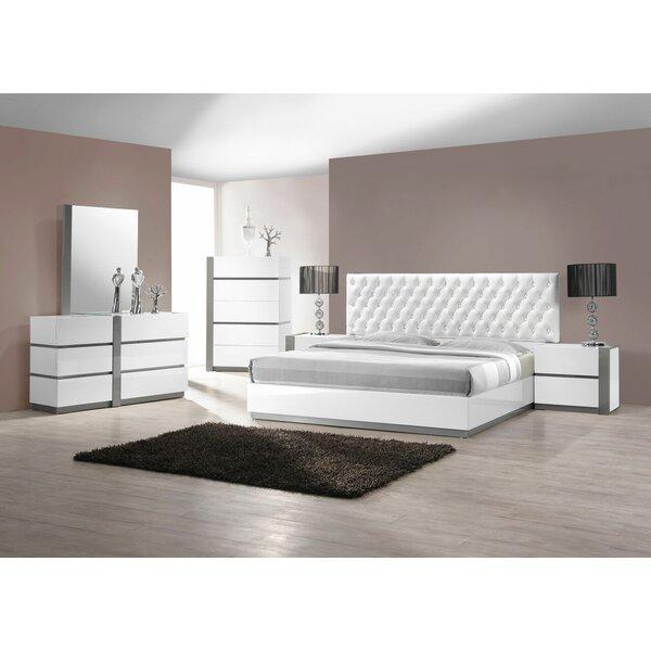 Kajal Upholstered Platform Configurable Bedroom Set by Orren Ellis