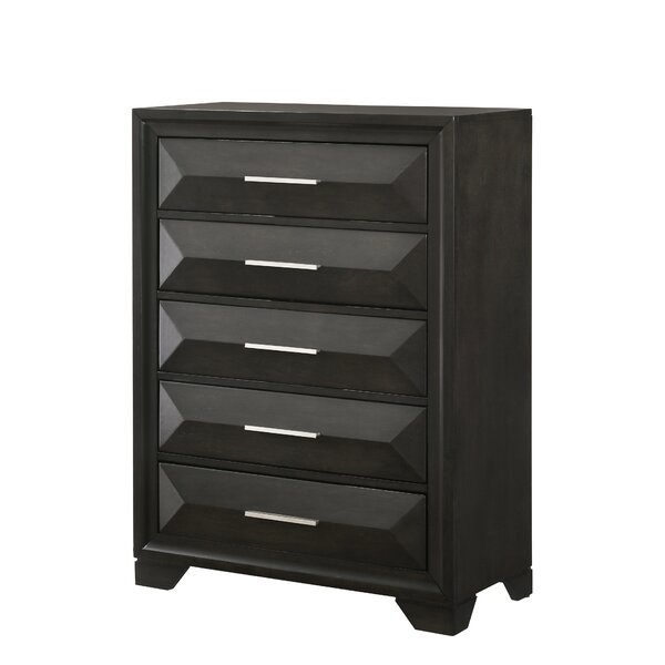 Gillispie 5 Drawer Chest by Latitude Run