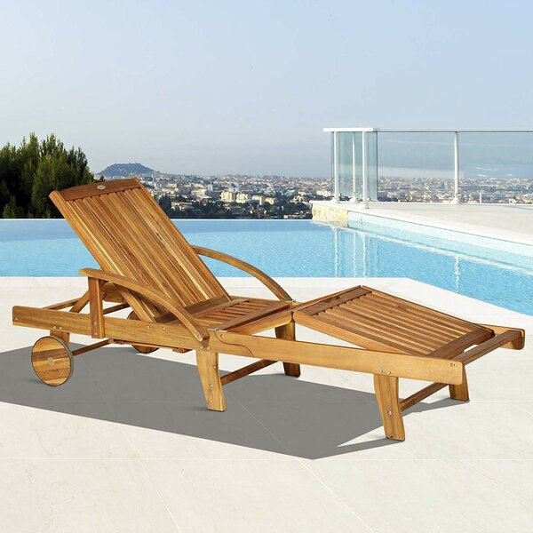Maxton Folding Reclining Chaise Lounge by Bay Isle Home Bay Isle Home