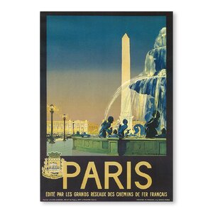 Paris Vintage Advertisement by Americanflat