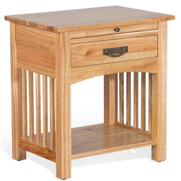 Bryony 1 Drawer Nightstand by Millwood Pines