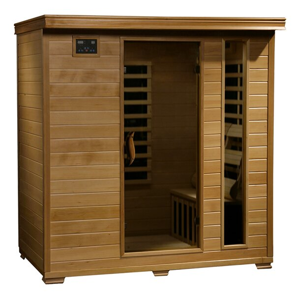 Infracore Premium 4 Person FAR Infrared Sauna by Radiant Saunas
