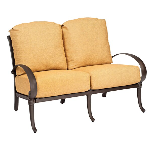 Holland Loveseat with Cushions by Woodard