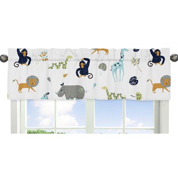 Mod Jungle 54 Window Valance by Sweet Jojo Designs