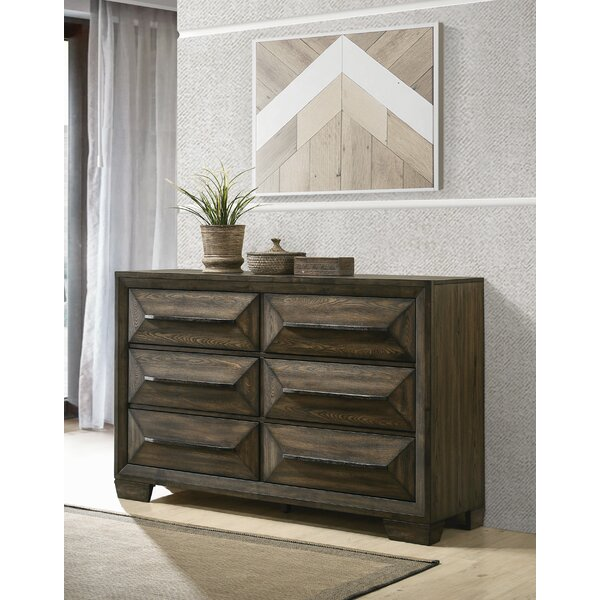 Winegar 6 Drawer Double Dresser By Foundry Select by Foundry Select Design