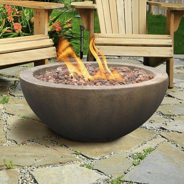Mondavi Envirostone Propane Fire Pit by Bond Manufacturing