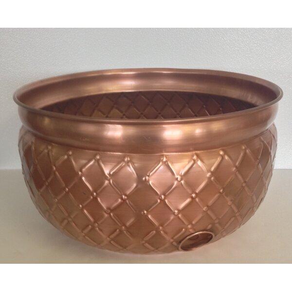Metal Hose Pot by Pomegranate Solutions, LLC