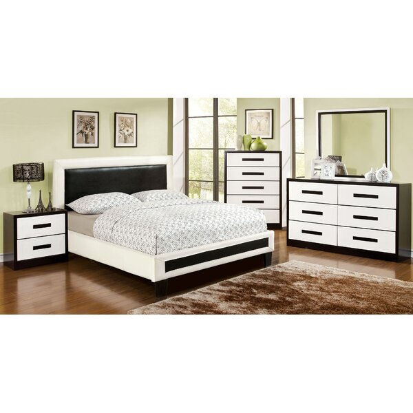 Domina Upholstered Platform Bed by Hokku Designs