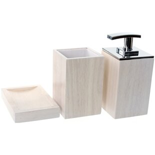 Buying Papiro 3-Piece Bathroom Accessory Set ByGedy by Nameeks