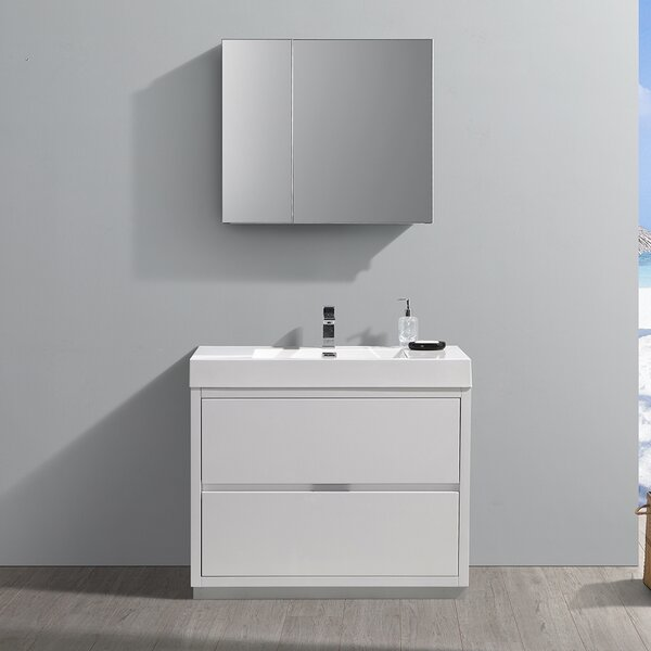 Senza Valencia 42 Single Bathroom Vanity Set by Fresca