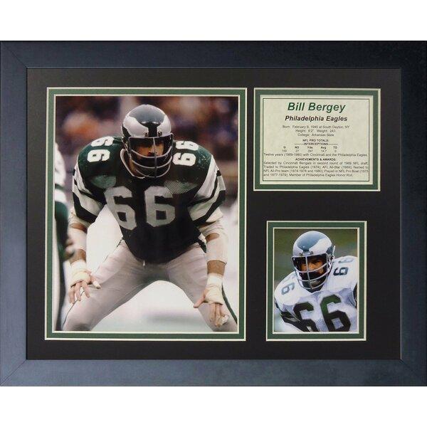 Bill Bergey Framed Memorabilia by Legends Never Die