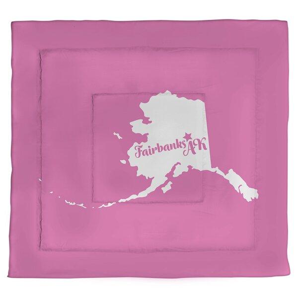 Alaska Fairbanks Single Reversible Comforter
