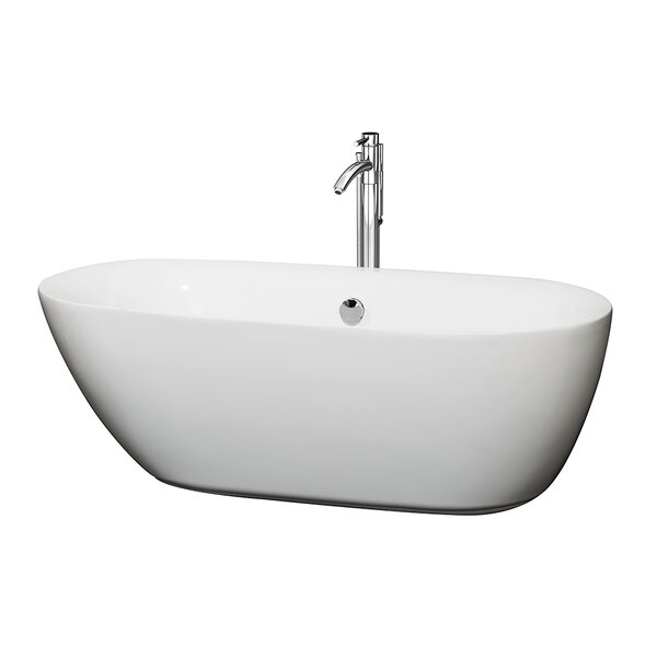 Melissa 65 x 31 Soaking Bathtub by Wyndham Collection