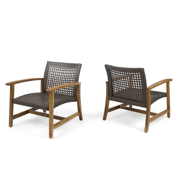Bellbrook Patio Chair (Set Of 2) By Mistana by Mistana New Design