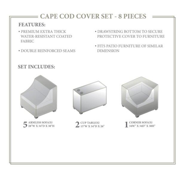 Cape Cod Winter 8 Piece Cover Set by TK Classics