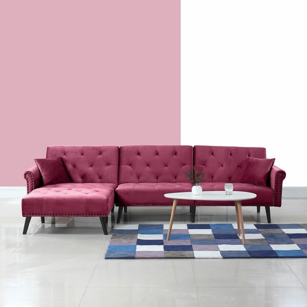 Salcombe Reversible Sectional by House of Hampton
