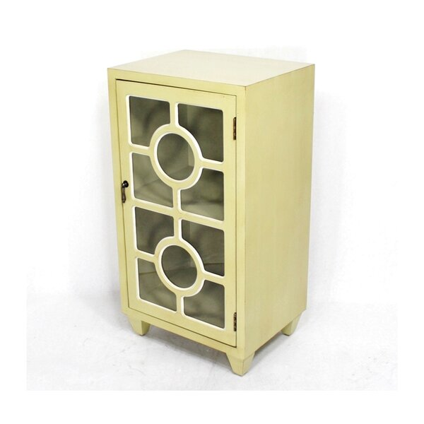 Deanne Wooden 1 Door Accent Cabinet By World Menagerie