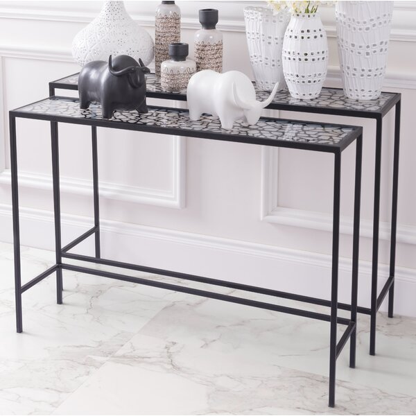 Swiftcurrent 2 Piece Console Table Set By Bloomsbury Market