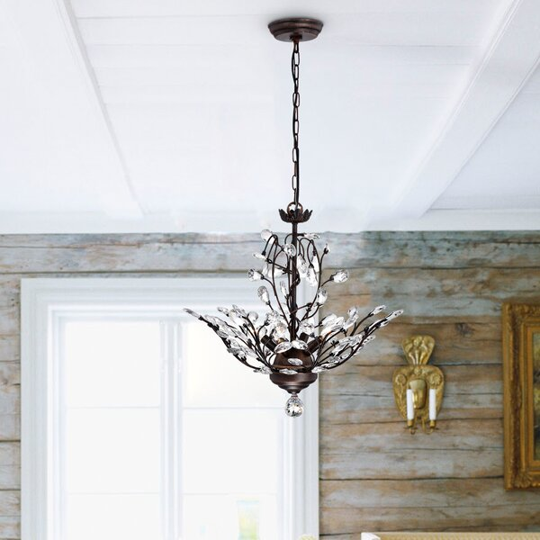 Alijah 4-Light LED Candle Style Chandelier by Will