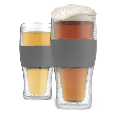 Freeze Plastic Pint Glass (Set of 2) by HOST