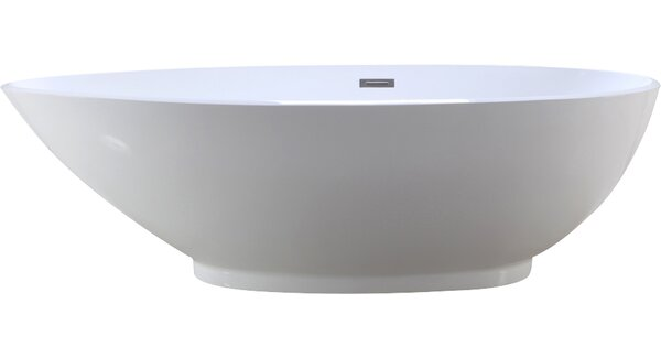 HelixBath Diospolis 75 x 33.5 Soaking Bathtub by Kardiel