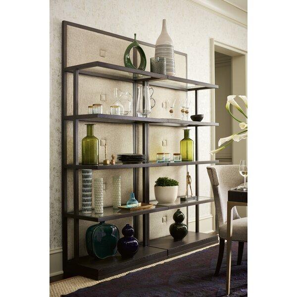 Doucet Button Back Etagere Bookcase by Brayden Studio