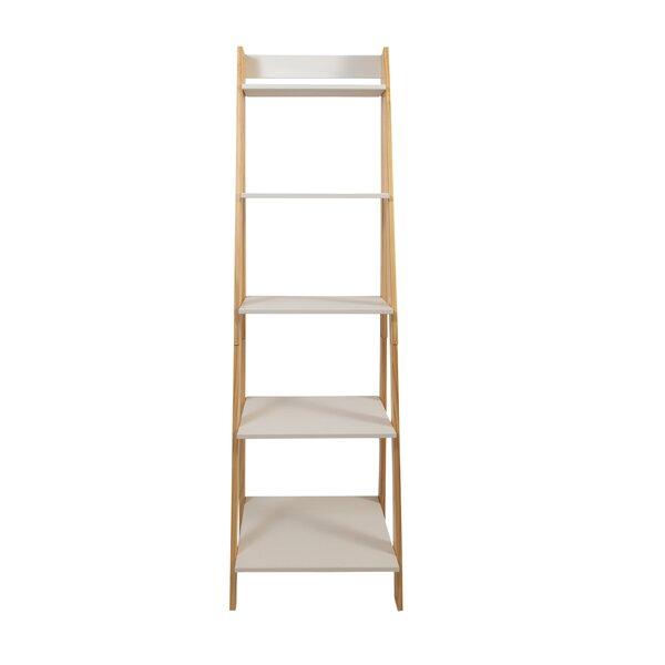 Home & Garden Matt Standard Split Ladder Bookcase