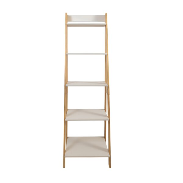 Matt Standard Split Ladder Bookcase By Andover Mills
