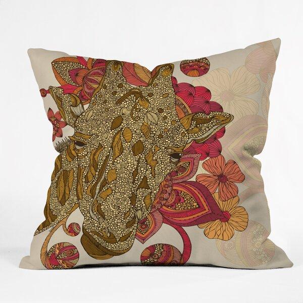 Valentina Ramos the Giraffe Throw Pillow by Deny Designs