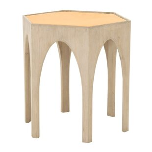 Chardae Accent Table by Bungalow Rose