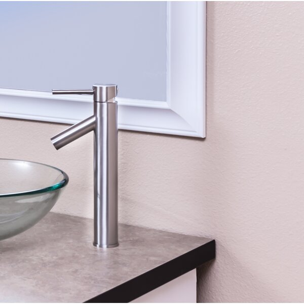 Single Vessel Sink Bathroom Faucet with Drain Assembly by Topia