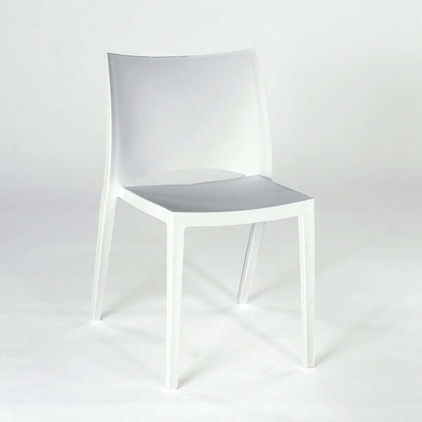 Demi Armless Stacking Chair (Set of 4) by Wade Logan