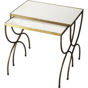 Bacchus 2 Piece Nesting Tables by Butler